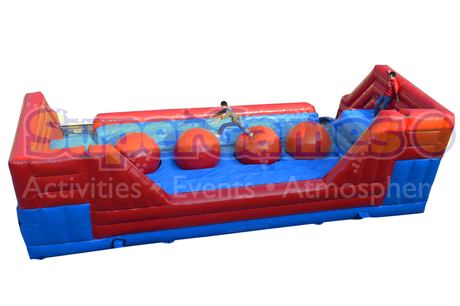 SharonFest, inflatable rides, rides